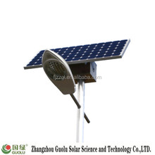 120w village green remote control solar street light with pole price
