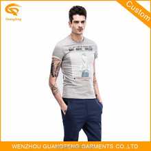 Manufacture Custom Print Brand Fashion T-Shirt