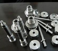 Titanium machined screw