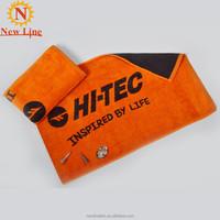 dobby border and velvet golf towel supplier in China
