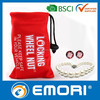 High quality customized OEM drawstring microfiber bag for glasses