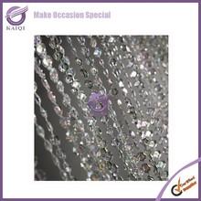 K4233 Wholesale crystal beaded door curtain for home decor