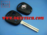 Hot sale toyota key blank for toyota 2 button remote key blank toy40 for toyota remote key