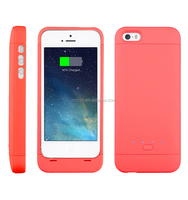 MFI Lithium Polymer Battery Charger Case for IPhone5/ 5S/ 5C