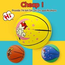Bulk costomize custom personal logo rubber basketball ball