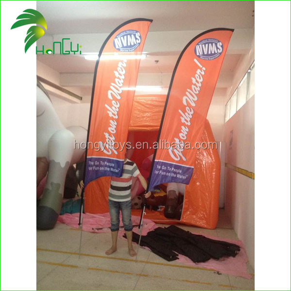 2015 Hot Selling Customized Advertising Beach Flag (1)