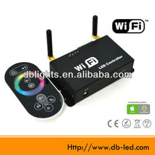 wireless 12-24v iTunes Android iPhone iPad iPaod wifi rgb led controller