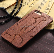 Fashion DIY custom wood case laser engraving cell phone case wood case for iphone6 china wholesale