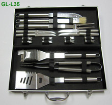 Stainless Steel BBQ Grill Accessories Full Set Of Tools
