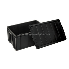 Black Conductive Electronic Components Packing ESD tray