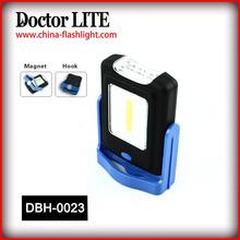 New COB+3 LED Plastic Hook Light