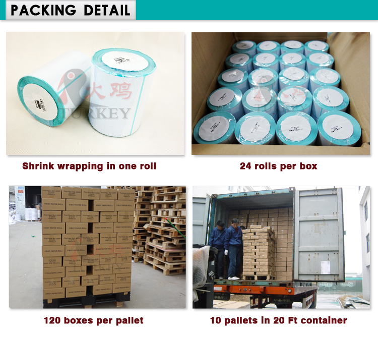 label roll blank sticker direct thermal paper label for ...