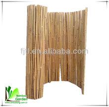 model pagar bambu