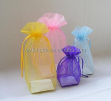 popular square organza bag/pouch for gift/jewellery/cosmetics