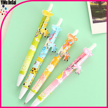 Promotion creative colorful animal shaped ballpoint pen promotional ball pen with cord creative ballpoint pens