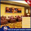 Zhihua hot sale 3D wall panels,cheapest colored wall paneling