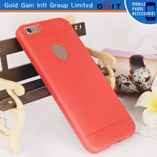 Candy color phone case for iPhone 6 for apple with dot view