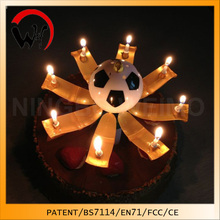 creative football birthday candle kids party supplies in china