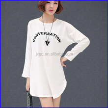 2015 fashion style latest hot sale 100% cotton long sleeve vintage tall t-shirt