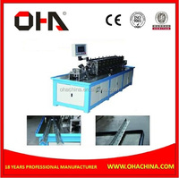 Square Line Manufacture Machine, Flange Forming Machine, Angel Steel Flange Forming Machine