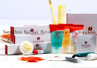 3-5 Star Hotel Soap and Shampoo Shower Gel Set/Promotional Hotel Amenities Set/low cost liquid soap