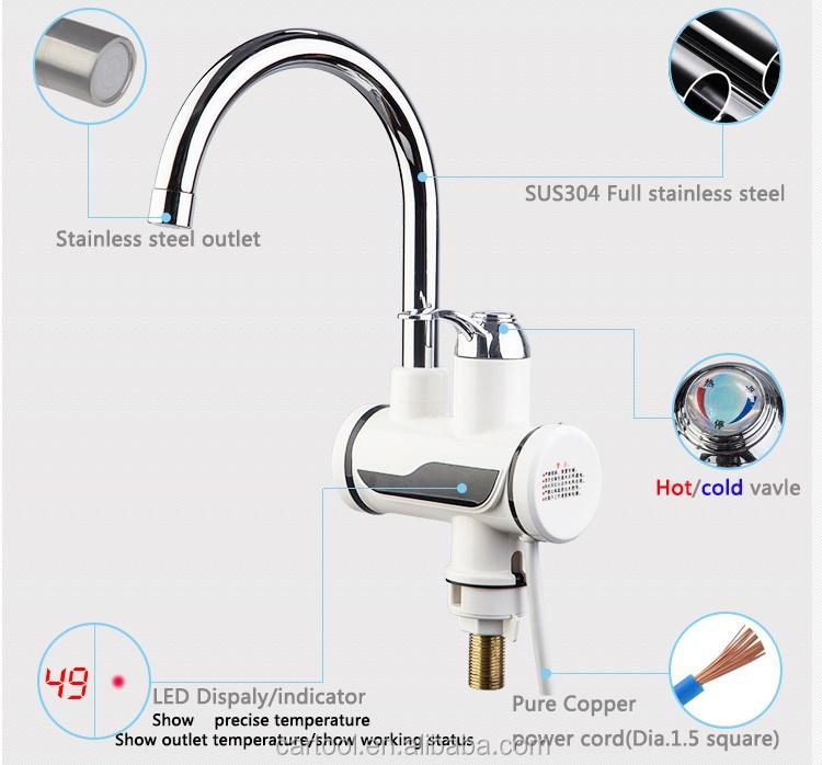 instantanée chauffe-eau du robinet pour le bain douche-robinet d ... - Robinet Eau Bouillante Instantanee