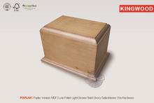 POPLAR wooden cremation urn wood pet cremation urns