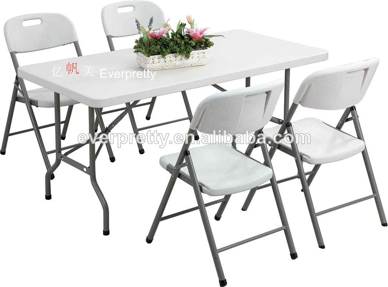 Space Saving Dining Table And Chairs Ft Folding Dining Table And - 6ft dining table and chairs