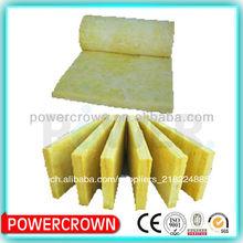 couverture de laine de verre jaune