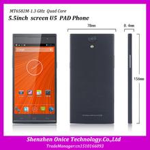 5.5inch original unlocked U5 mobile phone MTK6592 octa core android 4.3 8gb rom 1gb ram 3g wcdma gsm dual sim smartphone