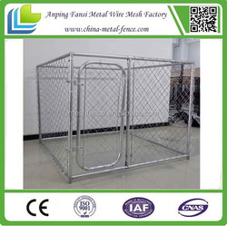 China cheap galvanizedl dog kennel wholesale welded wire dog kennels