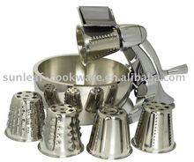 stainless steel manual salad machine/ food cutter(SL-003)