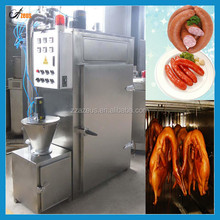 Big and small automatic meat smokehouse for fish sausage chicken turkey bacon