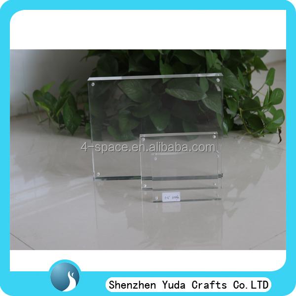 Custom acrylic block photo frame acrylic frame art acrylic for Custom acrylic blocks