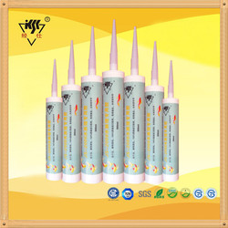 Good Adhesion Glass Acetoxy cure Silicone Sealant Coral
