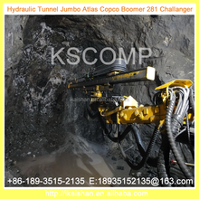 20% Off 2015 New Design Drill Jumbo/Used Full Hydraulic tunnel drill jumbo KJ311/big tunnel drilling rig