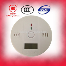 China factory price fire alarm personal Carbon monoxide detector and natural / domestic lpg gas leak detector en6001