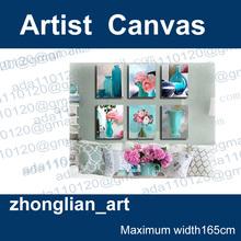 a sala de pintura decorativa pinturas frameless