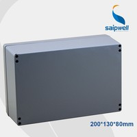 2015 Newest saip (200*130*80mm) Aluminium Box Waterproof Aluminum Enclosure Box Ip66