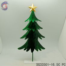 home decoration shinning metal christmas trees