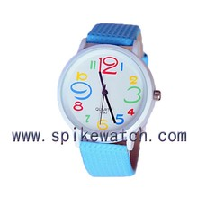 2015 Newest Style Big Numbers Dial Popular Watches Women/girl