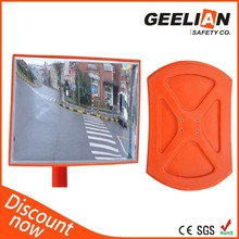 Hot Sale Unbreakable Outdoor Traffic Road Plastic Convex Rear View Mirror