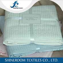 100% Cotton 2015 High Quality Wholesale Brand Name Blankets