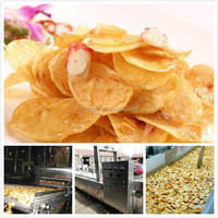 Snacks making machine,fresh potato chips production line,potaotchips machine