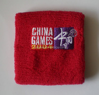 custom cloth cotton wristband for events