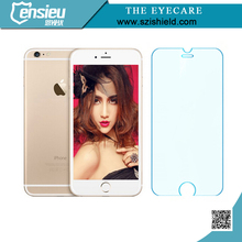 anti crack oil resistant tempered glass film screen protector for mobile phone