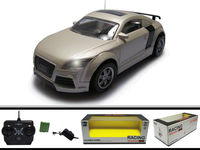 1/24 scale 4ch audi remote control pp material toys manufacturer in china