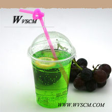 2014 hot sale Disposable forzen juce cup with straw