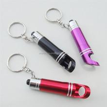 led bottle opener keychain flashlight new style