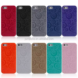 circle style Double box Case book Cover skin for Apple iPhone 5 5G 5S